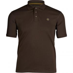 Koszulka polo Seeland Skeet brown przód