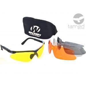Okulary strzeleckie z wymiennymi wkładami Walkers Sport Glasses
