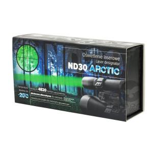 Oświetlenie laserowe, latarka ND30 Arctic
