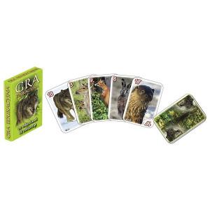 Karty edukacyjne Piotruś ze zdjęciami zwierząt