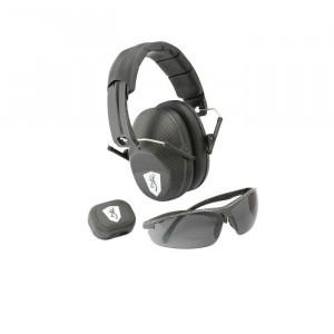 Zestaw ochronniki słuchu Browning Tactical Range Kit + okulary + stopery
