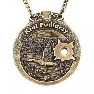 Medal myśliwski król pudlarzy wz. kaczka