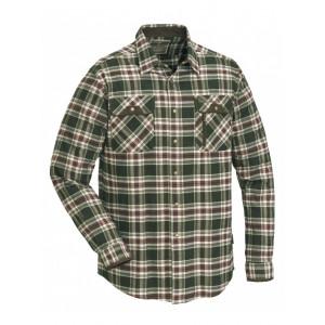 Koszula Pinewood Prestwick beżowo-brązowa