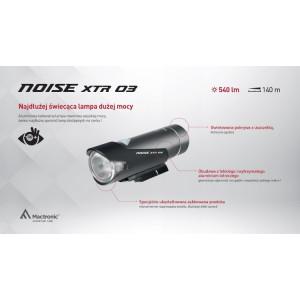 Latarka Mactronic NOISE XTR rowerowa 540 lumenów