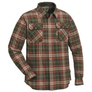 Koszula Pinewood Prestwick terakota/oliwkowy