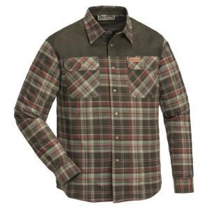 Koszula Pinewood Douglas zielono-brązowa